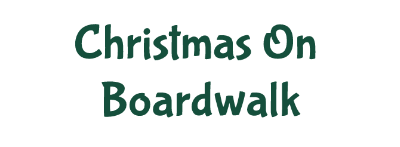 Christmas On Boardwalk